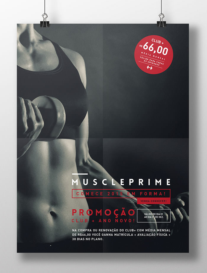 Muscle Prime - Poster